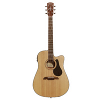 Acoustic/Electric Gtr W/C-Ay Natural S-Spr-T Mgy