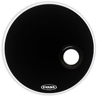 Evans Emad Resonant Black 22 Inch