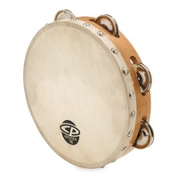 Cp Wood Head Sng Row 8Inch Tambourine