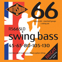Rotosound Rs665Ld Swing Bass 66 Long Scale