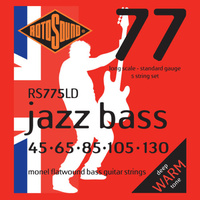Rotosound Rs775Ld Jazz Bass 77 Long Scale 45-105 Monel