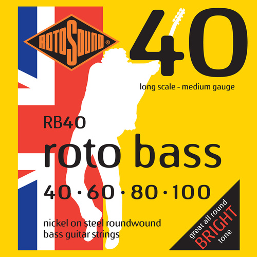 Rotosound Rb40 Rotobass Medium 40 - 100