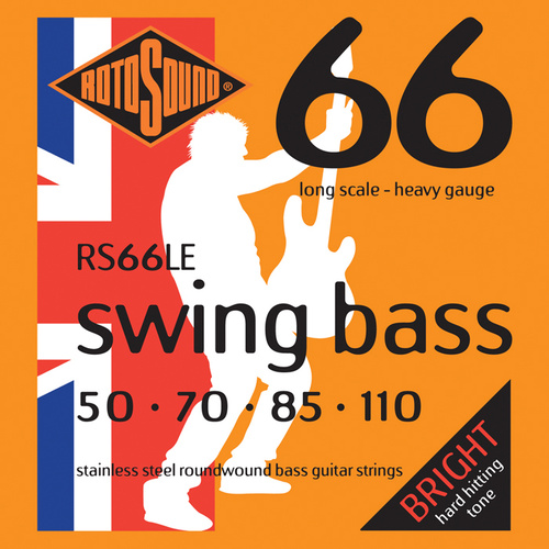 Rotosound Rs66Le Swing Bass 66 Long Scale 50