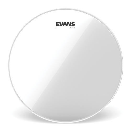 Evans 08 Inch Tom Tom Head Clear